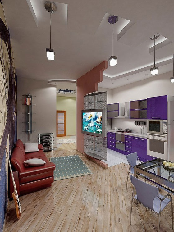 Малогабаритные квартиры студии фото